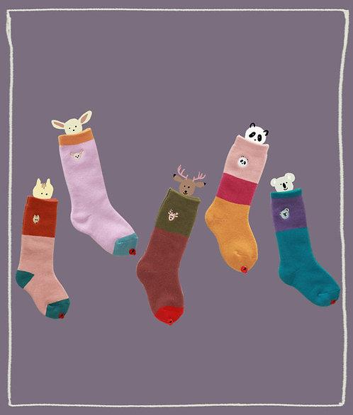 Geschenkbox mit Socken im 5er-Pack - My Tiny Heroes