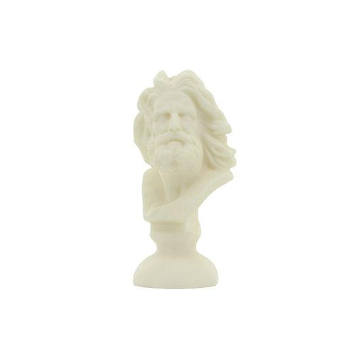 """Sojawachskerze """"Plato"""" elfenbeinweiß"""