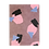 Thumbnail: Collage Notizheft aus Hanji (traditionelles koreanisches Papier) Felsen