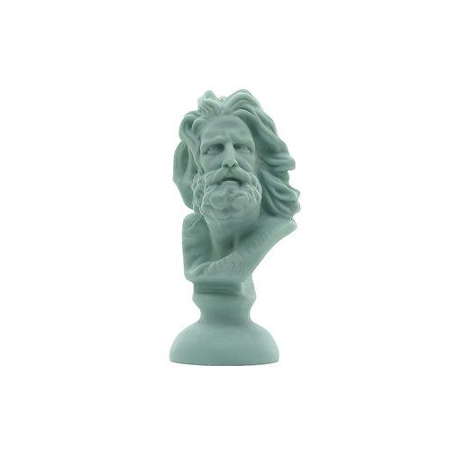 """Sojawachskerze """"Plato"""" mint"""