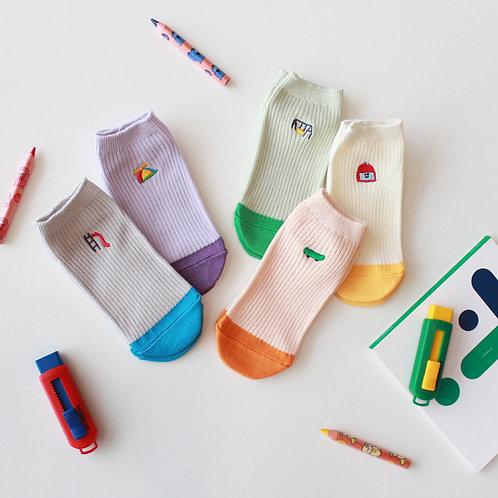Socken im 5er-Pack - Play Time