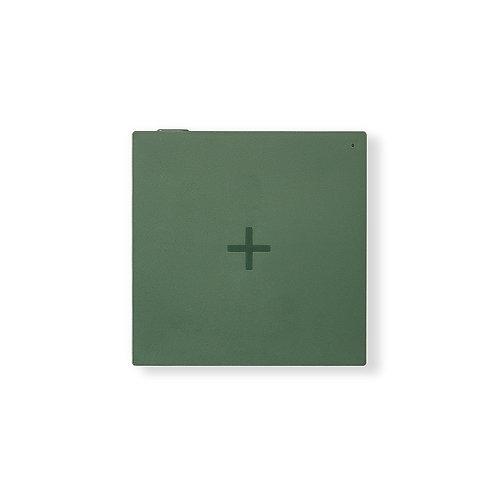 Wireless Charger Ladepad grün