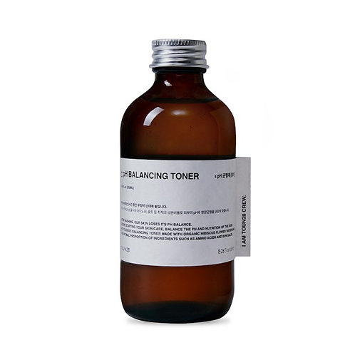 pH-Balancing Gesichtswasser mit 50 % Bio-Hibiskus-Blütenwasser
