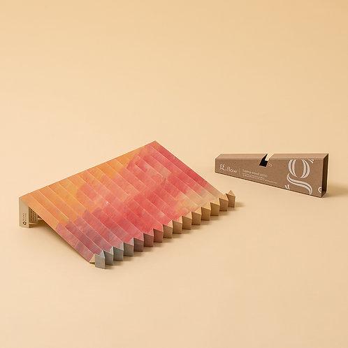 """45g Laptopständer aus pH-neutralem Recyclingpapier """"g.flow"""" Sonnenuntergang"""