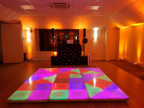 80's party at the Wiltshire hotel