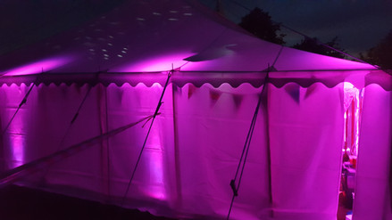 Pink Uplit Marquee