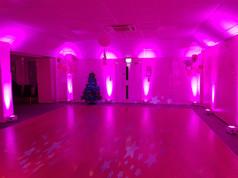 Pink uplights (Mood Lights)