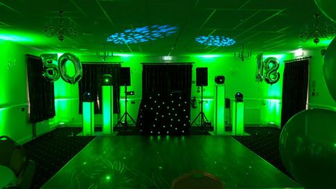 Green Uplights (Mood Lights)
