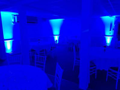 Blue Uplights (Mood Lights)
