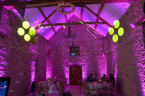 Kingscote Barn Uplights (Mood Lights)