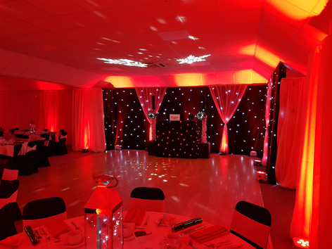 Christmas party at the Wiltshire Hotel