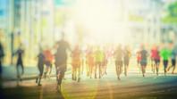 Running with the Faith Team