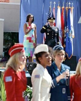 National Anthem, Michelle Obama