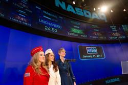 USO Show Troupe, Nasdaq closing bell