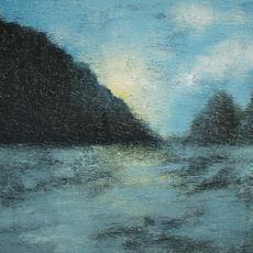 "SOLD ""Capers blue landscape2"""