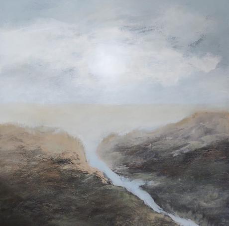 Cooney, Serene series3, Acrylic on canva