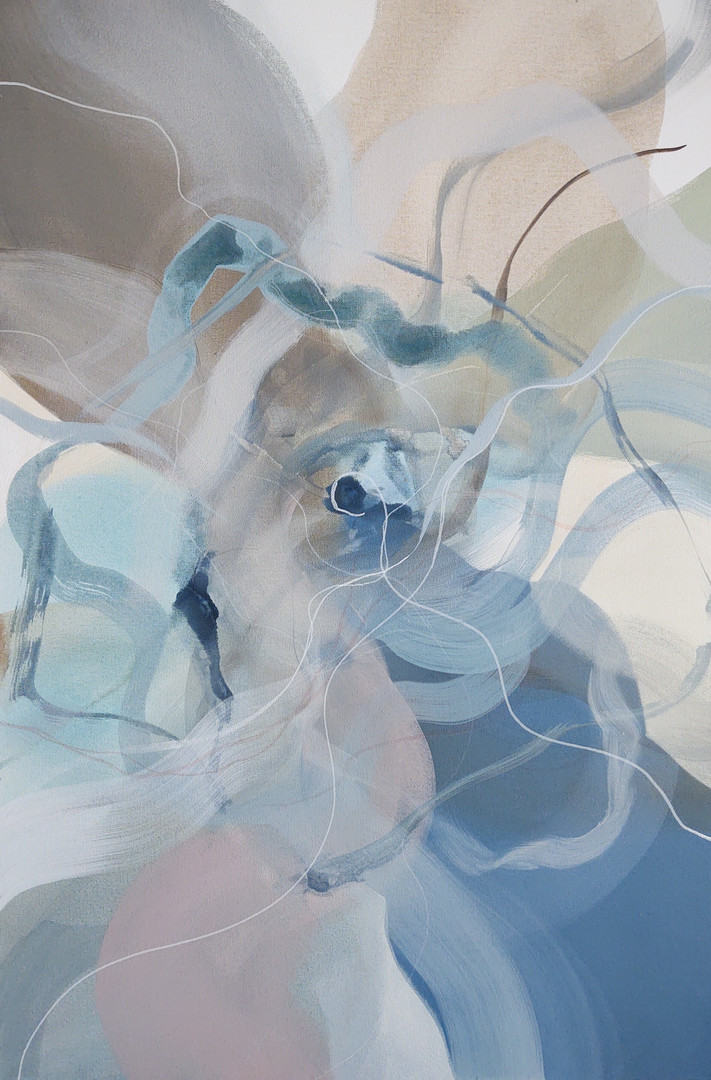 Cooney, Abstract Nature series1, Acrylic