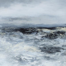 """SOLD """"Stormy sea2"""""""