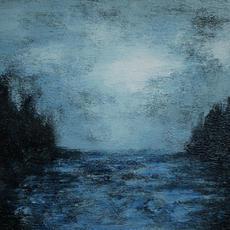 "SOLD ""Capers blue landscape"""