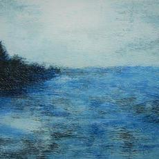 "SOLD ""Capers blue landscape1"""