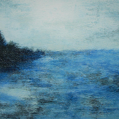 "SOLD ""Capers blue landscape1"""