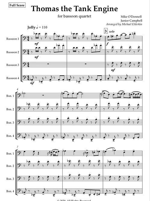 Thomas The Tank Engine (Bassoon Quartet)