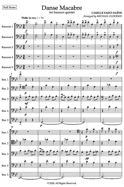 Danse Macabre (Bassoon Quintet)