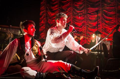 Will de Renzy-Martin (as Luca) and Joe Partridge (as Attilio), Mascherato Workshop 2017