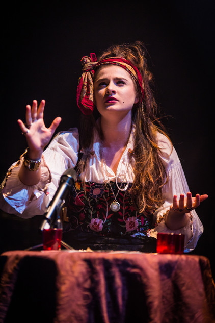 Darcey Williams (as Madame Domani), Mascherato Workshop 2017