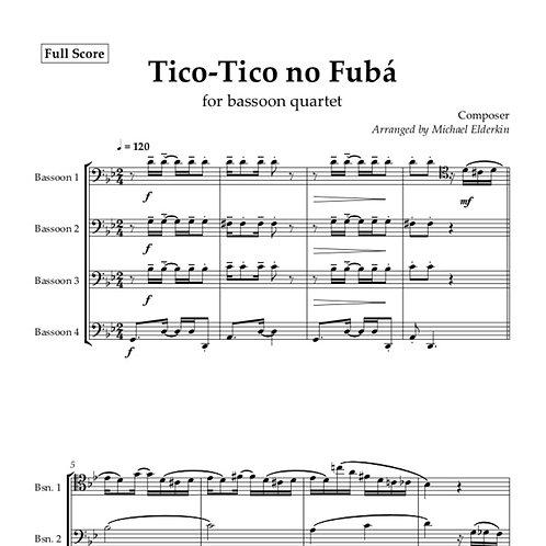 Tico-Tico no Fubá (Bassoon Quartet)