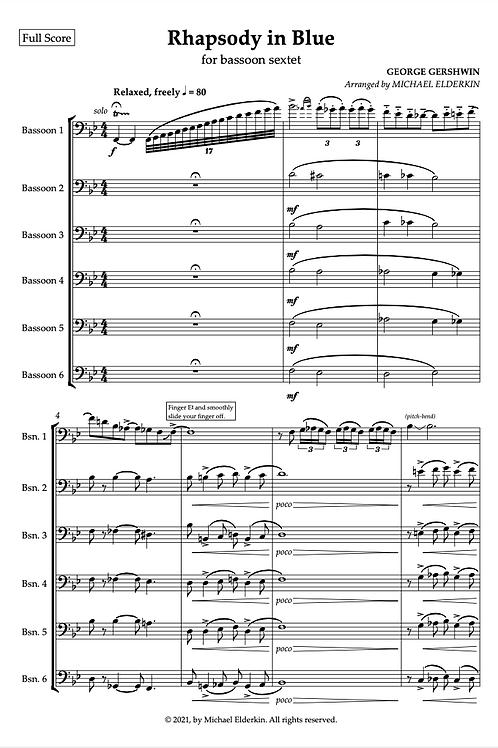 Rhapsody in Blue (Bassoon Sextet)