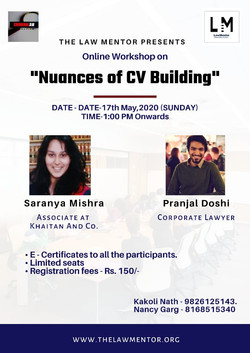 Nuances of CV Building