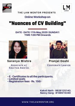 Nuances of CV Building