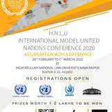 HNLU IMUNC 2020 [Feb 28-March 1, Raipur]: Registrations Open