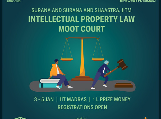 Surana & Surana and Shaastra IITM Intellectual Property Law Moot Court