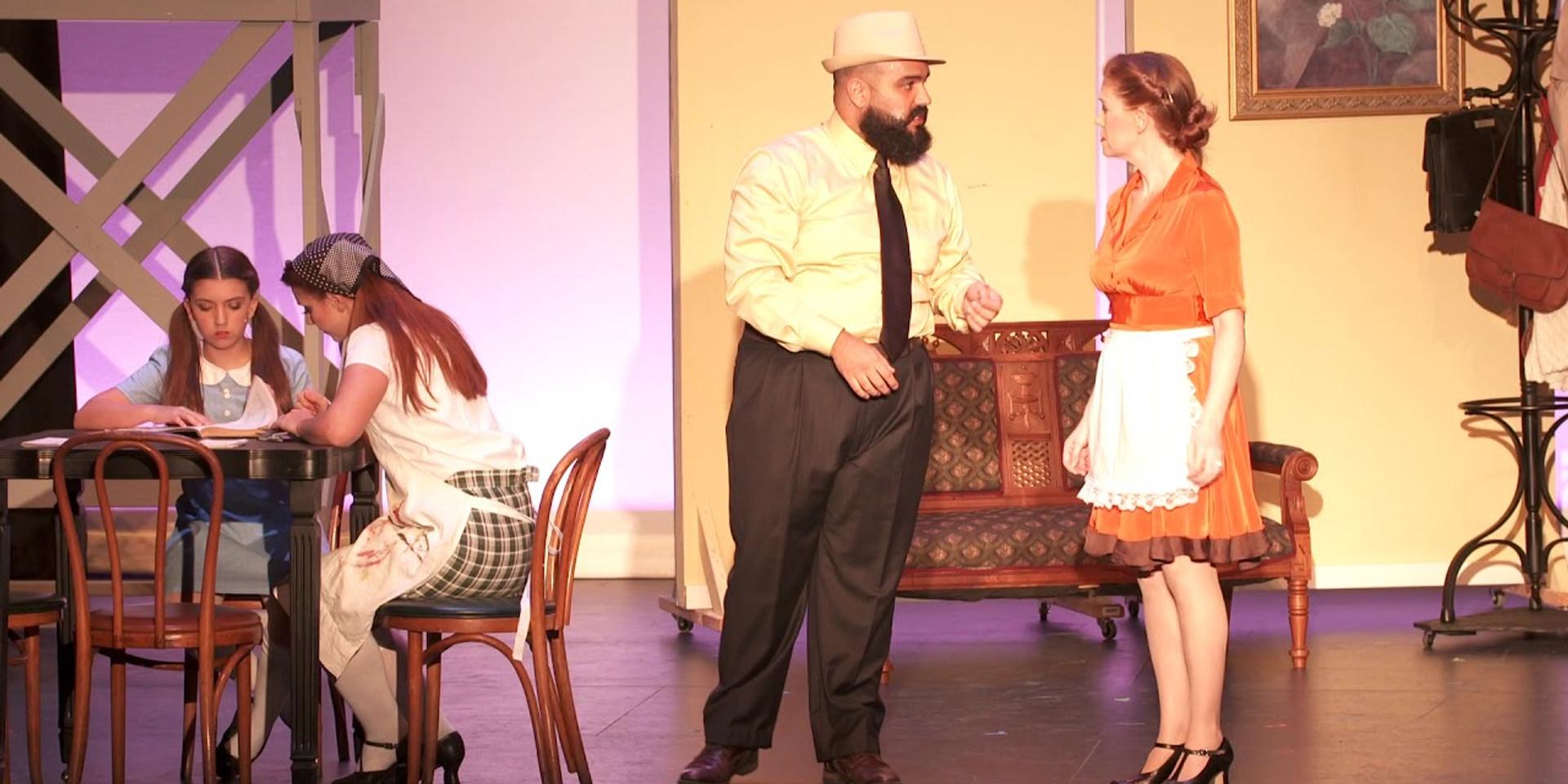 """Act 1, Scene 6 - """"Lucien Returns"""""""