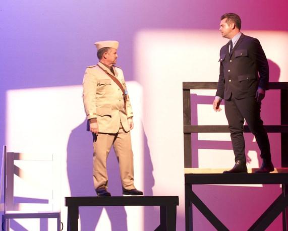"""Act 1, Scene 13 - """"Battle of France"""""""