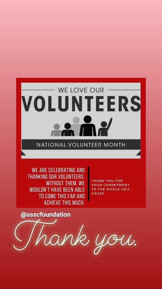 National Volunteer Month - WHY WE ARE CELEBRATING THESE AMAZING HUMANS: