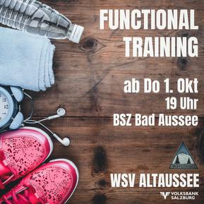 Funktionelles Training WSV Volksbank Altaussee findet statt