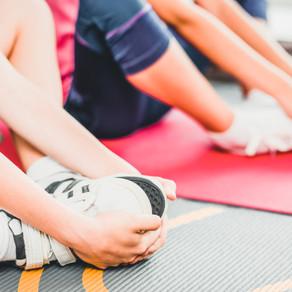 Kinder und Functional Training im Laufen