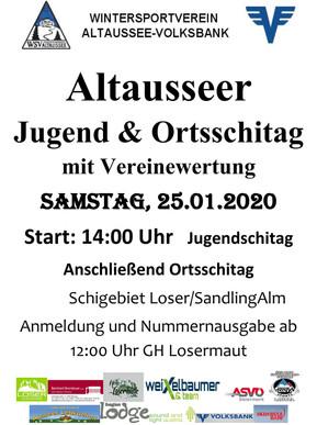 7. Altausseer Jugend - und Ortsschitag 2020