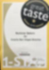 Great Taste Certificate.JPG