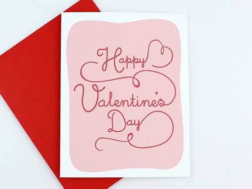 HAPPY VALENTINE'S DAY | CARD