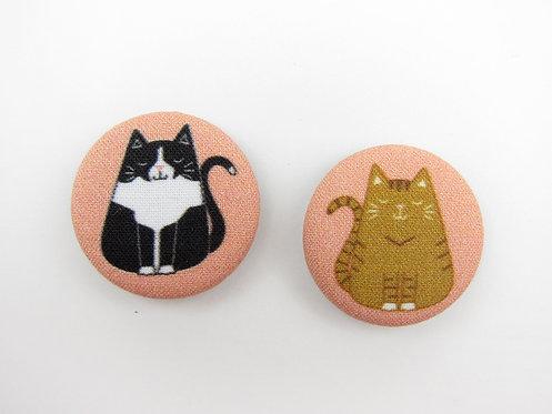 FAT CAT | SET OF 2 MAGNETS | WHOLESALE