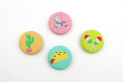 FIESTA) | SET OF 4 MAGNETS | WHOLESALE
