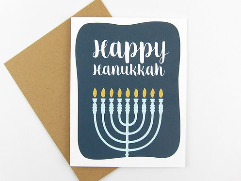 HAPPY HANUKKAH | CARD