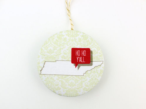 HO HO Y'ALL TENNESSEE | ORNAMENT