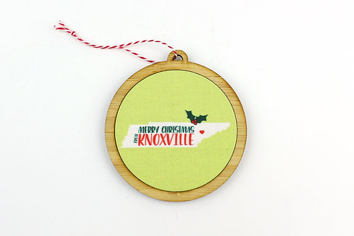 MERRY CHRISTMAS FROM KNOXVILLE | ORNAMENT