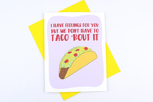 TACO 'BOUT IT | CARD