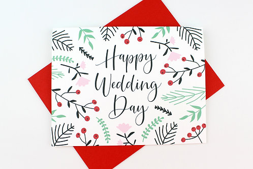 HAPPY WEDDING DAY | CARD | WHOLESALE
